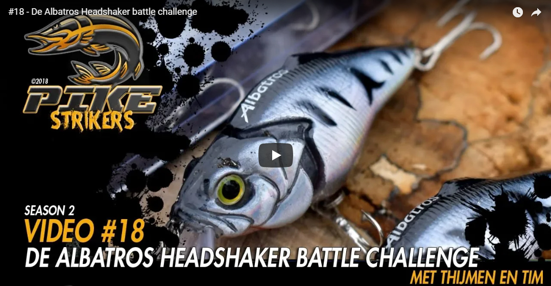 Pike Strikers – De Albatros Headshaker battle challenge